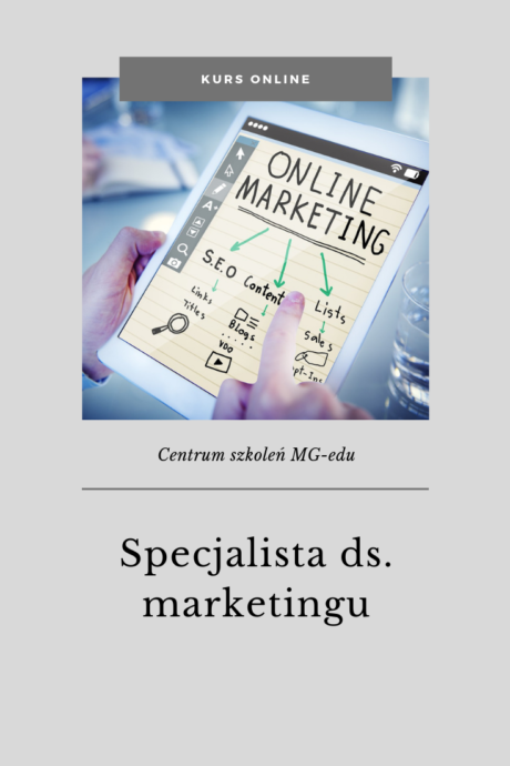 Kurs Specjalista marketingu