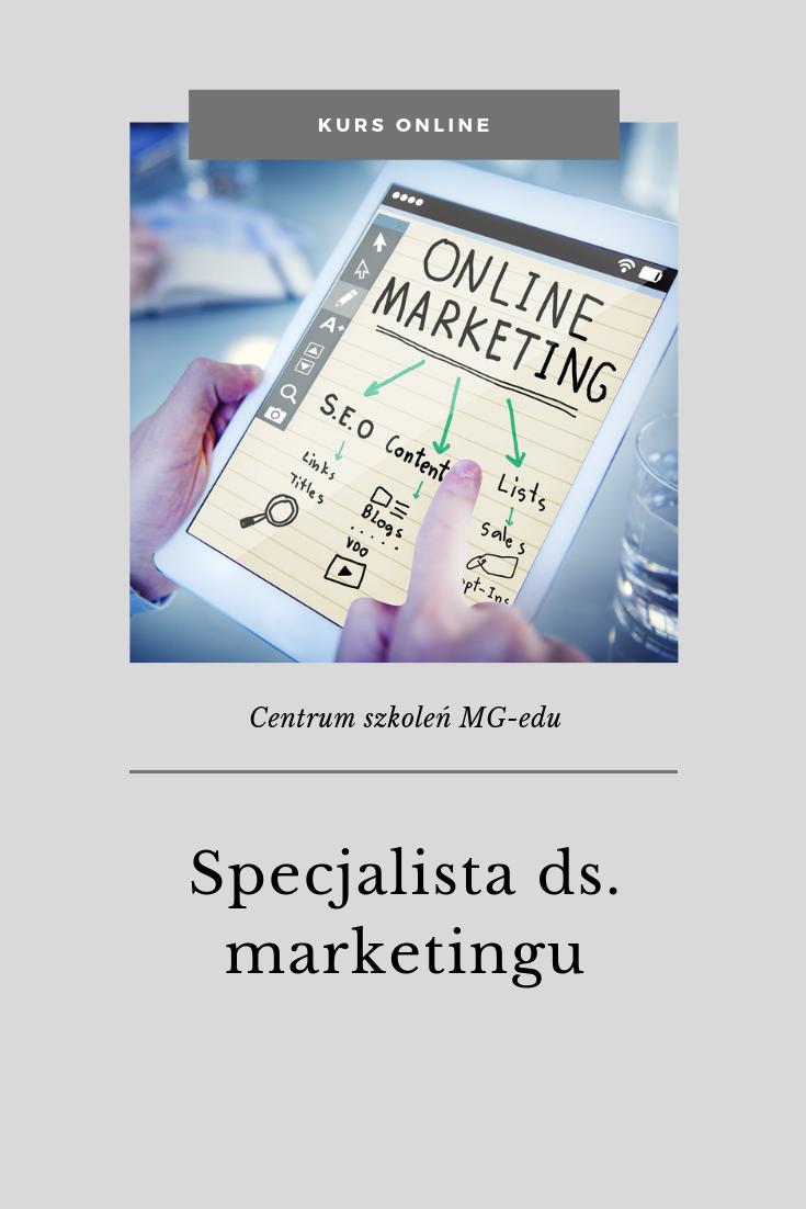 Kurs Specjalista marketingu
