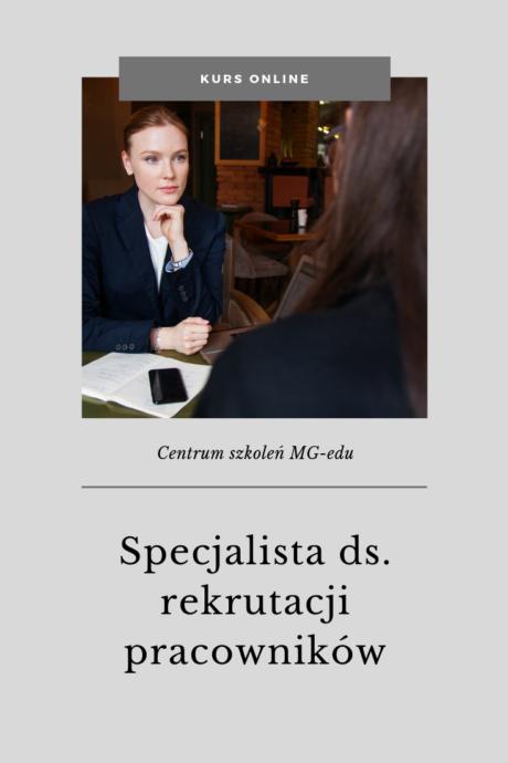 specjalista rekrutacji